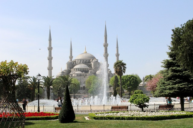 Istanbul turkey mosque, places monuments.