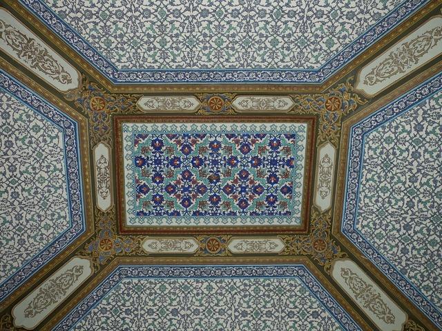 Istanbul turkey palace.
