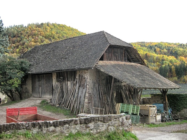 Italy barn shed, nature landscapes.