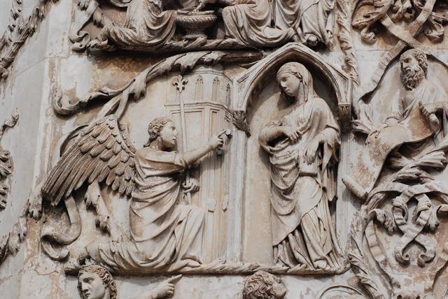 Italy bas relief sculpture.