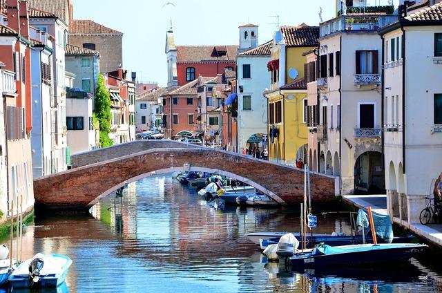 Italy chioggia bridge.