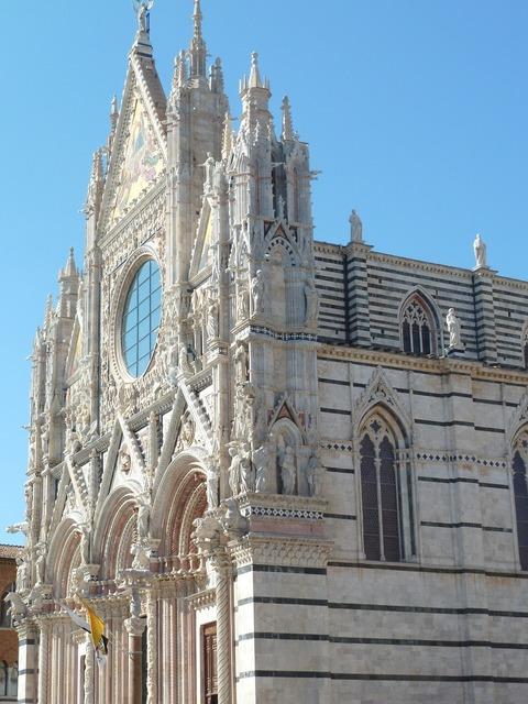 Italy church architecture, religion.