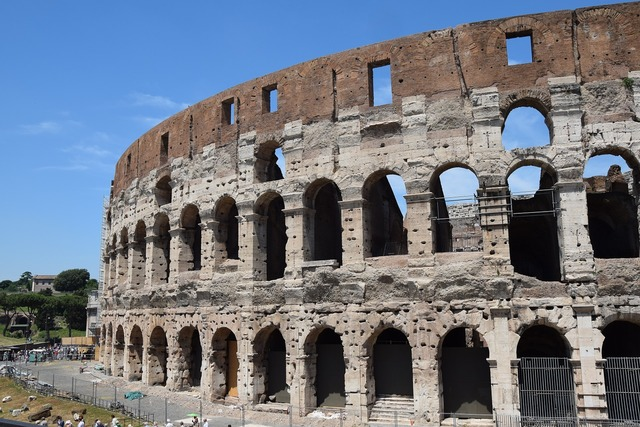 Italy colosseum rome, architecture buildings.