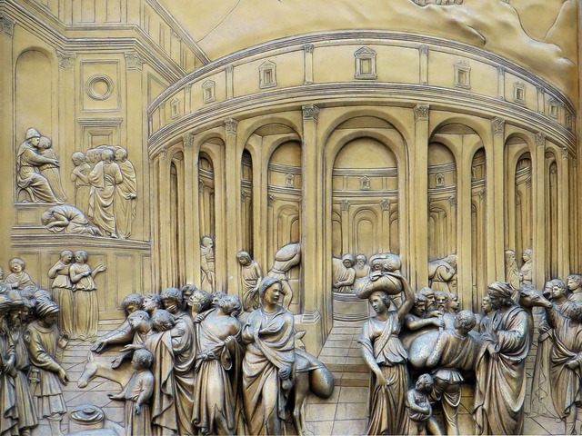 Italy florence baptistery.