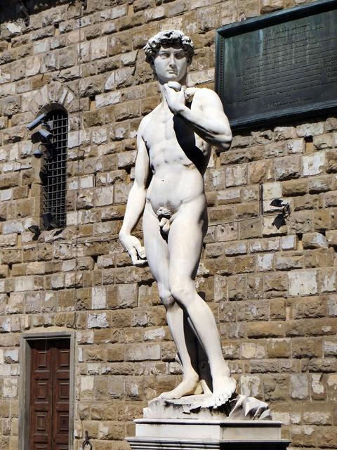 Italy florence david.