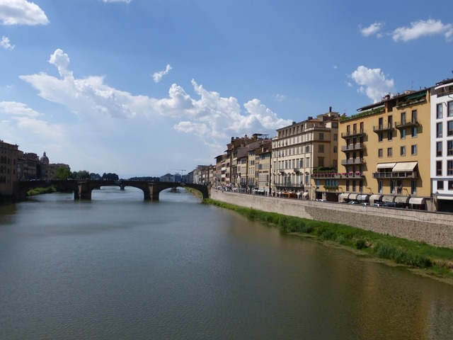 Italy florence river.
