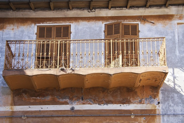 Italy liguria bajardo decay, architecture buildings.