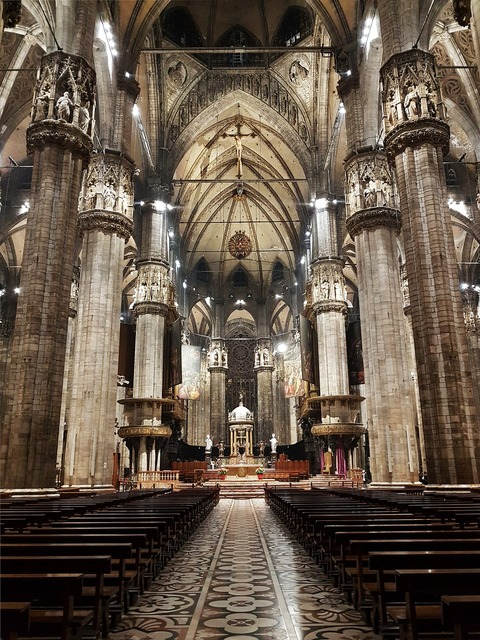 Italy milan cathedral, architecture buildings.