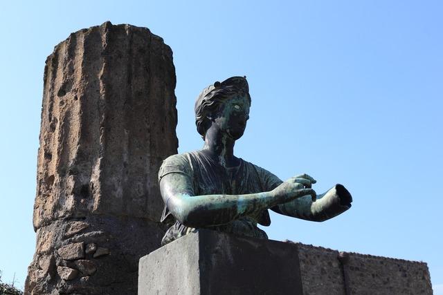 Italy pompei roman.
