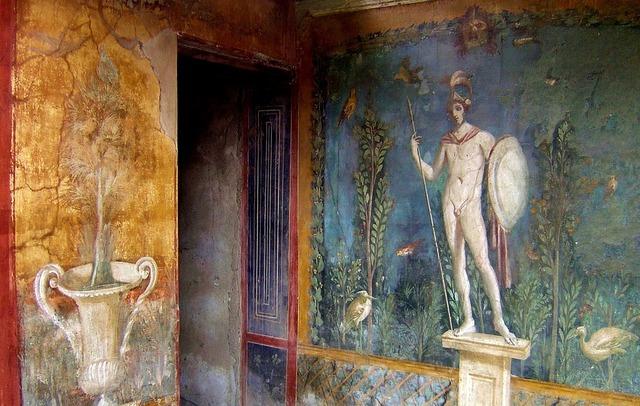 Italy pompeii antiquity.