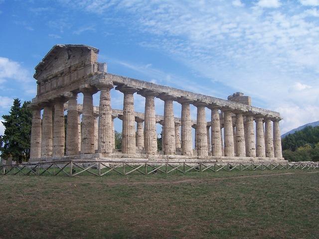 Italy pompeii columnar, architecture buildings.
