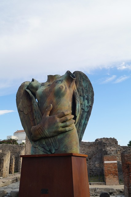 Italy pompeii moderne kunst.