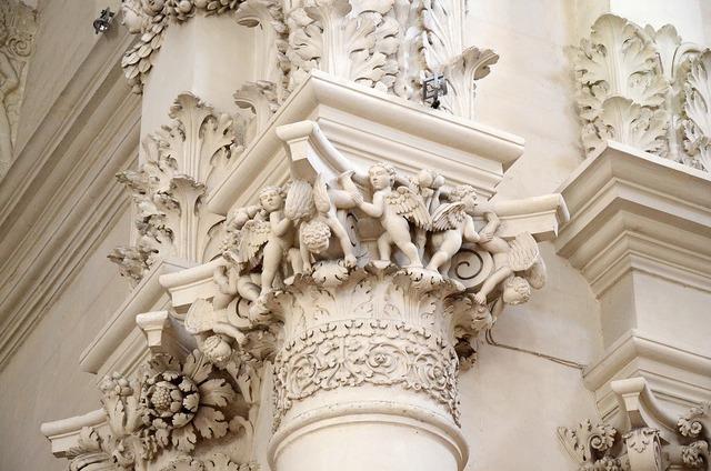 Italy pouilles baroque.