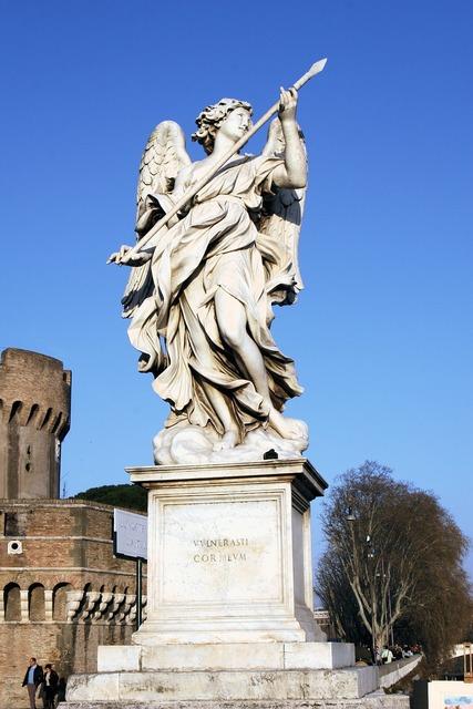 Italy rome castel sant'angelo.