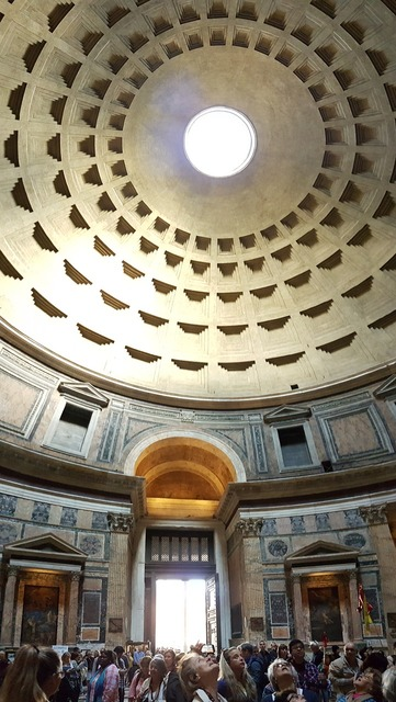 Italy rome pantheon, places monuments.