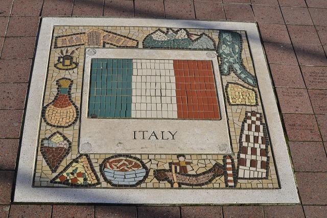 Italy team emblem emblem, sports.