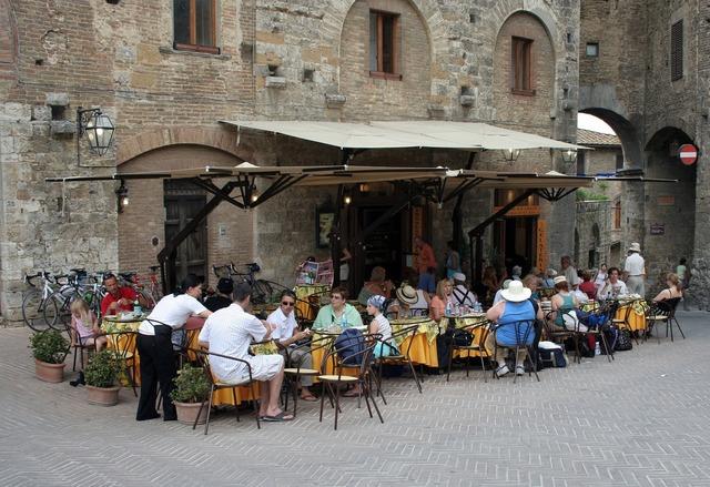 Italy tuscany village.