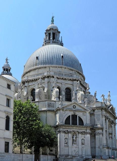 Italy venice church, religion.