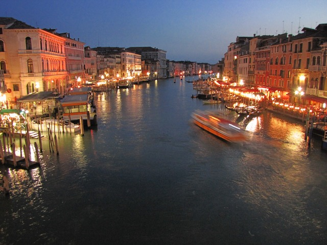 Italy venice waterway.