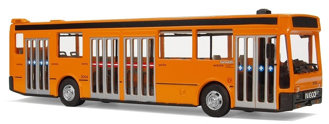 Iveco turbo city model buses.