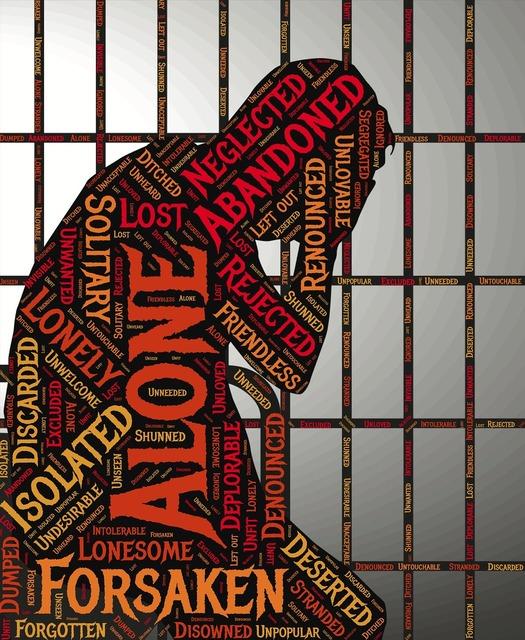 Jailed imprisoned abandoned.