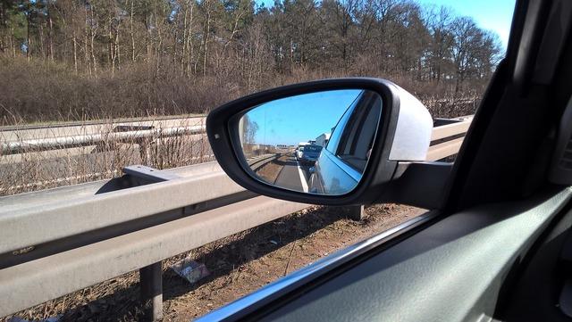 Jam mirror auto, transportation traffic.