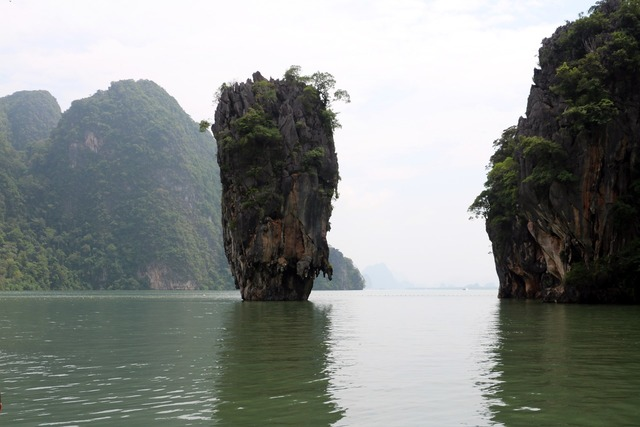 James bond island thailand, travel vacation.