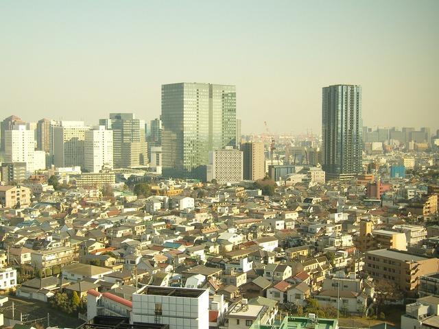 Japan building high rise, architecture buildings.