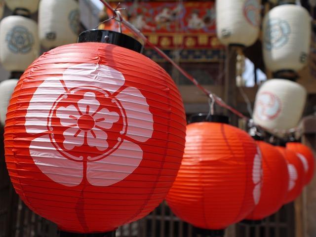 Japan festival summer.