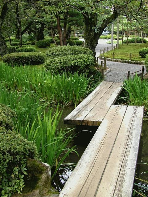 Japan kanazawa park.