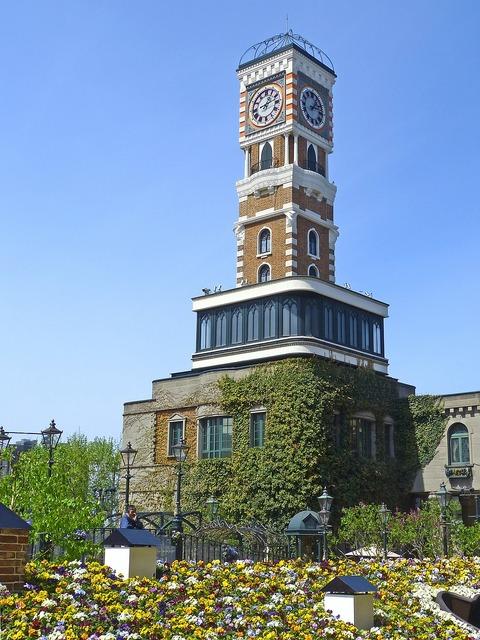 Japan sapporo clock tower.