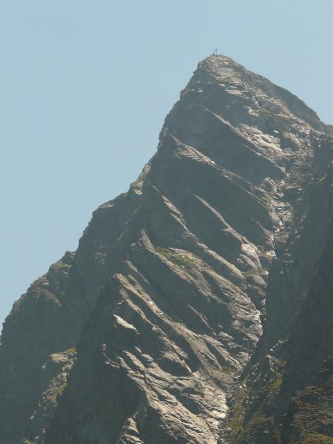 Jaufenspitze mountain mountain summit, nature landscapes.