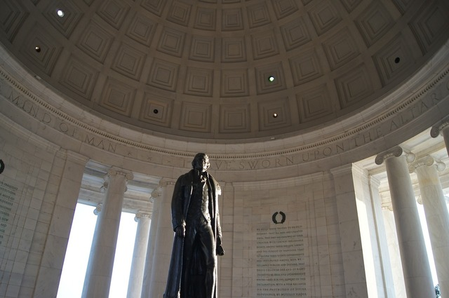 Jefferson jefferson monument washington dc.