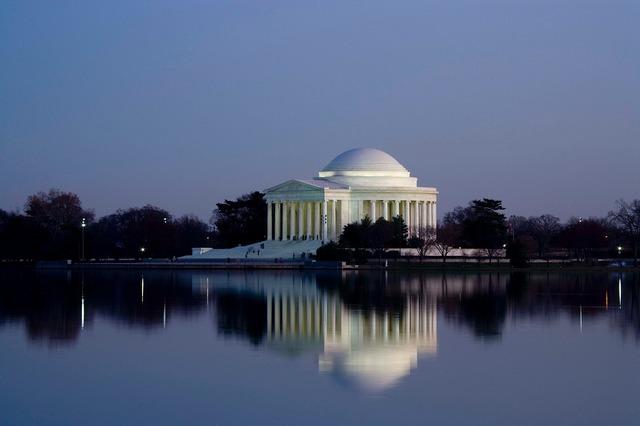 Jefferson memorial washington d c, places monuments.