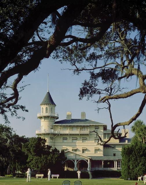 Jekyll island georgia usa, architecture buildings.