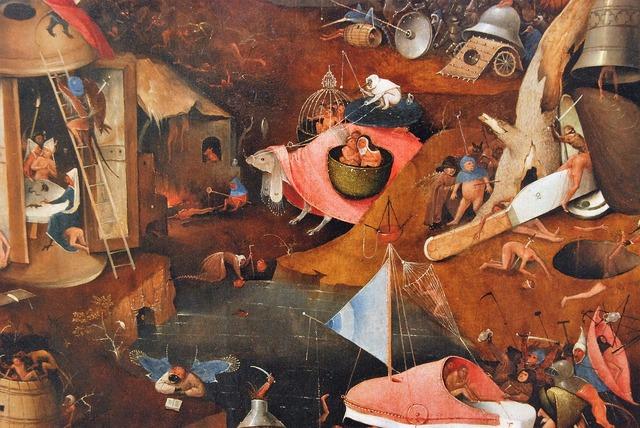 Jeroen bosch the last judgement painting, religion.
