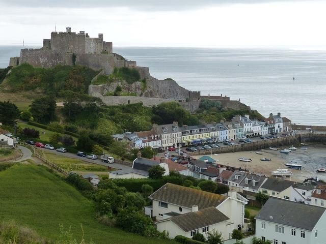 Jersey castle orgueil.