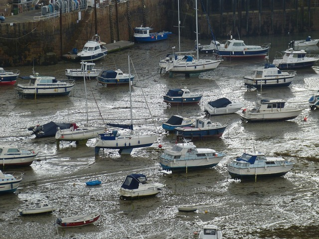 Jersey orgueil port, travel vacation.