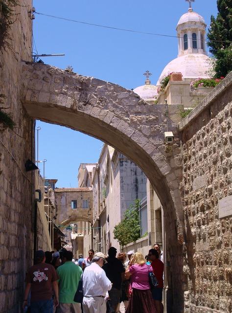 Jerusalem ancient city walls architecture, architecture buildings.