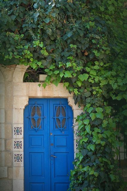 Jerusalem israel door, architecture buildings.