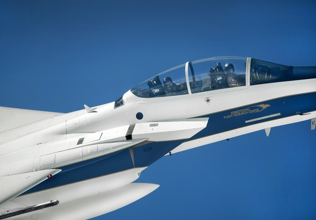 Jet aircraft f-15d, science technology.