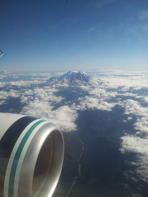 Jet engine mount st helens oregon.