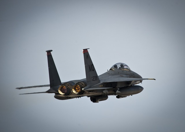 Jet fighter climb.