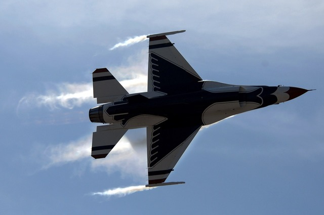 Jet military performance.