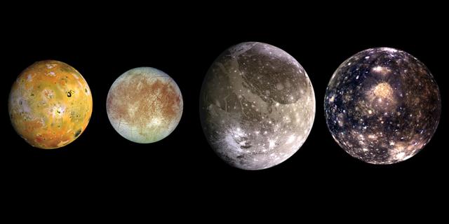 Jupiter planet galilean monde.