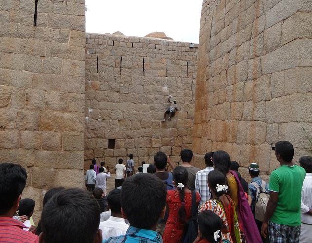 Jyothi rai spiderman vertical wall climbing.