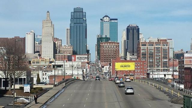 Kansas city downtown building, architecture buildings.
