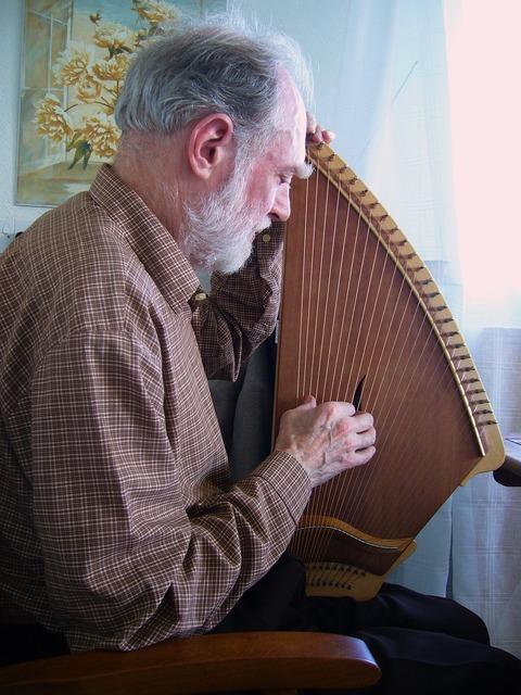 Kantele musician stringed instrument, music.