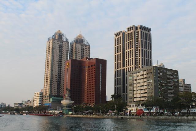Kaoshiung taiwan asia, architecture buildings.