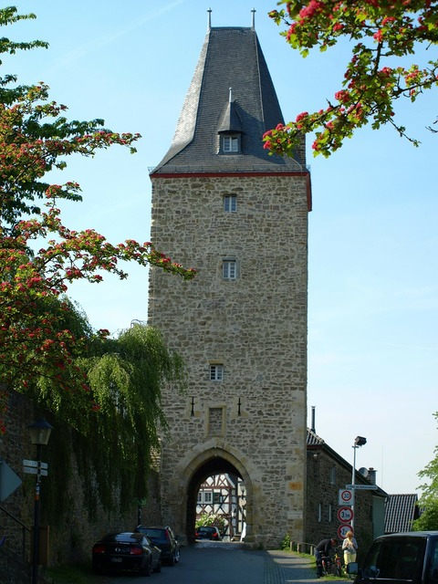 Katharinenturm city blankenberg tower.